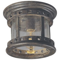 Maxim 40030CDSE Santa Barbara VX 1 Light 9 inch Sienna Outdoor Ceiling Mount