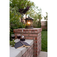 Maxim Lighting Santa Barbara VX 3 Light Outdoor Deck Lantern in Sienna 40031CDSE alternative photo thumbnail