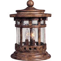 Maxim 40032CDSE Santa Barbara VX 15 inch 40 watt Sienna Outdoor Deck Lantern photo thumbnail