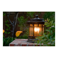 Maxim 40032CDSE Santa Barbara VX 15 inch 40 watt Sienna Outdoor Deck Lantern alternative photo thumbnail