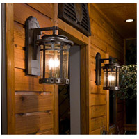 Maxim 40033CDSE Santa Barbara VX 1 Light 13 inch Sienna Outdoor Wall Mount