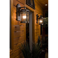 Maxim 40035CDSE Santa Barbara VX 3 Light 20 inch Sienna Outdoor Wall Mount alternative photo thumbnail