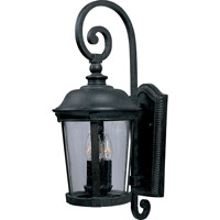 Maxim Lighting Dover VX 3 Light Outdoor Wall Mount in Bronze 40095CDBZ