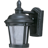 Dover VX 1 Light 10 inch Bronze Outdoor Wall Mount