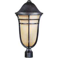 Maxim 40100MCAT Westport VX 1 Light 23 inch Artesian Bronze Outdoor Pole/Post Lantern