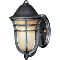 Maxim 40102MCAT Westport VX 1 Light 12 inch Artesian Bronze Outdoor Wall Mount