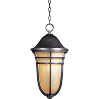 Maxim 40107MCAT Westport VX 1 Light 11 inch Artesian Bronze Outdoor Hanging Lantern
