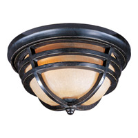 Maxim Lighting Westport VX 2 Light Outdoor Ceiling Mount in Artesian Bronze 40109MCAT