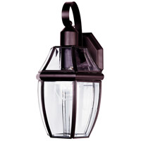 Maxim Lighting South Park 1 Light Outdoor Wall Mount in Burnished 4011CLBU