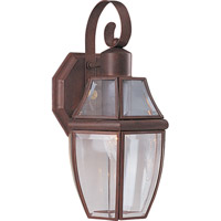 Maxim Lighting South Park 1 Light Outdoor Wall Mount in Pewter 4011CLPE