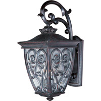 Newbury VX 2 Light 18 inch Oriental Bronze Outdoor Wall Mount