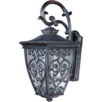 Maxim 40124CDOB Newbury VX 3 Light 23 inch Oriental Bronze Outdoor Wall Mount