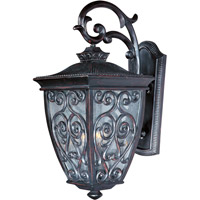 Newbury VX 3 Light 25 inch Oriental Bronze Outdoor Wall Mount