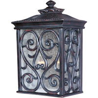 Newbury VX 2 Light 15 inch Oriental Bronze Outdoor Wall Mount