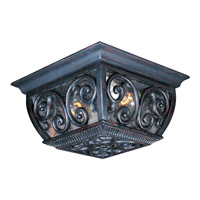Maxim Lighting Newbury VX 2 Light Outdoor Ceiling Mount in Oriental Bronze 40129CDOB