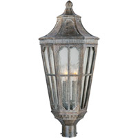 Maxim 40150CDSE Beacon Hill VX 3 Light 25 inch Sienna Outdoor Pole/Post Lantern