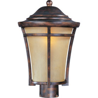 Balboa VX 1 Light 16 inch Copper Oxide Outdoor Pole/Post Lantern