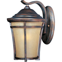 Maxim Lighting Balboa VX 1 Light Outdoor Wall Mount in Copper Oxide 40163GFCO