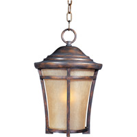 Maxim Lighting Balboa VX 1 Light Outdoor Hanging Lantern in Copper Oxide 40167GFCO