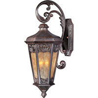 Maxim 40174NSCU Lexington VX 3 Light 28 inch Colonial Umber Outdoor Wall Mount