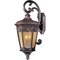 Maxim 40175NSCU Lexington VX 3 Light 31 inch Colonial Umber Outdoor Wall Mount