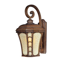 Maxim Lighting Lake Shore VX 1 Light Outdoor Wall Mount in Antique Pecan 40185LTAP