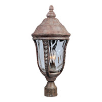 Maxim Lighting Whittier VX 3 Light Outdoor Pole/Post Lantern in Earth Tone 40201WGET