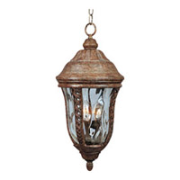 Maxim 40210WGET Whittier VX 3 Light 10 inch Earth Tone Outdoor Hanging Lantern