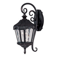 Maxim Lighting Garden VX 1 Light Outdoor Wall Mount in Oriental Bronze 40273WGOB