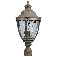 Maxim 40281WGET Morrow Bay VX 3 Light 24 inch Earth Tone Outdoor Pole/Post Lantern