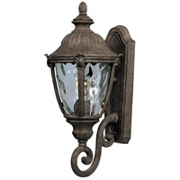 Maxim 40284WGET Morrow Bay VX 1 Light 20 inch Earth Tone Outdoor Wall Mount