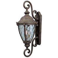 Maxim 40288WGET Morrow Bay VX 3 Light 27 inch Earth Tone Outdoor Wall Mount