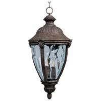 Maxim Lighting Morrow Bay VX 3 Light Outdoor Hanging Lantern in Earth Tone 40291WGET