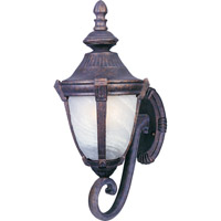 Maxim Lighting Wakefield 1 Light Outdoor Wall Mount in Empire Bronze 4032MREB