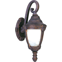 Maxim Lighting Wakefield 1 Light Outdoor Wall Mount in Empire Bronze 4033MREB