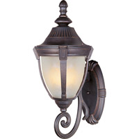 Maxim Lighting Wakefield 1 Light Outdoor Wall Mount in Empire Bronze 4035MREB