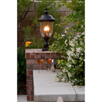 Maxim 40421WGOB Carriage House VX 3 Light 29 inch Oriental Bronze Outdoor Pole/Post Lantern alternative photo thumbnail