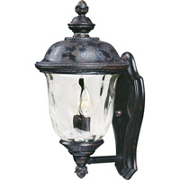 Maxim 40422WGOB Carriage House VX 2 Light 16 inch Oriental Bronze Outdoor Wall Mount