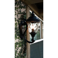Maxim 40424WGOB Carriage House VX 3 Light 27 inch Oriental Bronze Outdoor Wall Mount alternative photo thumbnail
