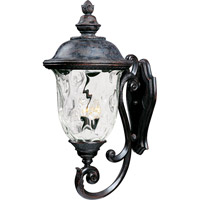 Maxim 40425WGOB Carriage House VX 3 Light 31 inch Oriental Bronze Outdoor Wall Mount