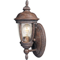 Knob Hill VX 1 Light 14 inch Sienna Outdoor Wall Mount
