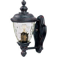 Maxim Lighting Carriage House VX 1 Light Outdoor Wall Mount in Oriental Bronze 40495WGOB