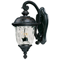 Maxim 40496WGOB Carriage House VX 2 Light 20 inch Oriental Bronze Outdoor Wall Mount