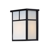 Maxim 4051WTBK Coldwater 2 Light 11 inch Black Outdoor Wall Mount