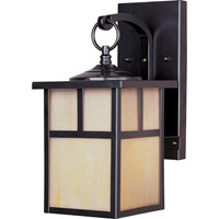 Maxim 4053HOBU Coldwater 1 Light 12 inch Burnished Outdoor Wall Mount