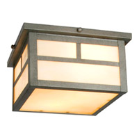 Maxim Lighting Coldwater 2 Light Outdoor Ceiling Mount in Pewter 4059HOPE