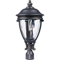 Maxim 41421WGGO Camden VX 3 Light 23 inch Golden Bronze Outdoor Pole/Post Lantern