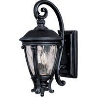 Maxim 41424WGBK Camden VX 2 Light 19 inch Black Outdoor Wall Mount