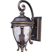 Maxim 41424WGGO Camden VX 2 Light 19 inch Golden Bronze Outdoor Wall Mount