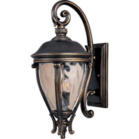 Camden VX 3 Light 29 inch Golden Bronze Outdoor Wall Mount